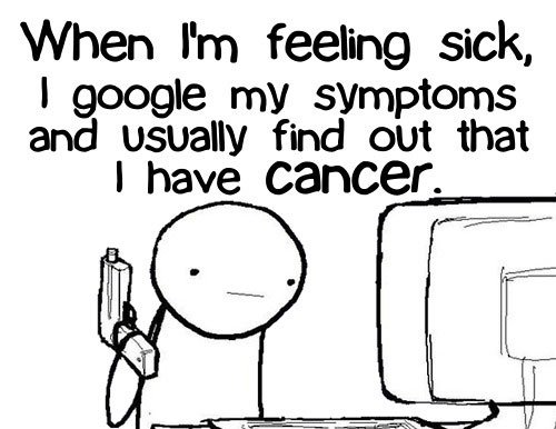 Stop googling health symptoms