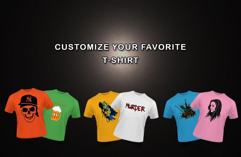 Customised-T-shirts