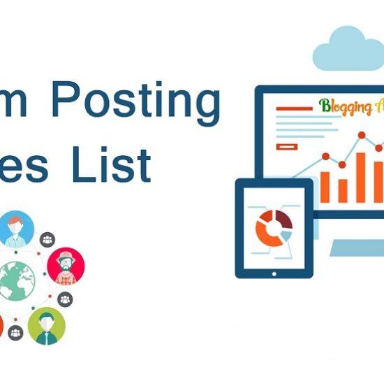 Forum-Posting-Sites-List