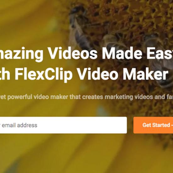 Meet FlexClip video maker