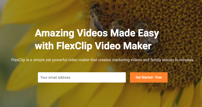 Meet FlexClip video maker